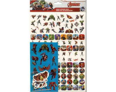 Marvel Avengers Mega Sticker Pack