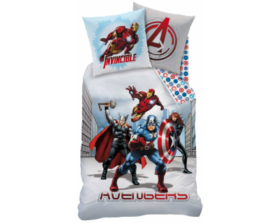 Marvel Avengers dekbedovertrek City