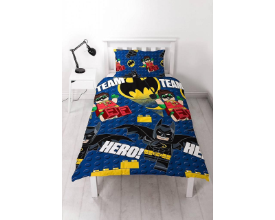 Batman lego dekbedovertrek hero
