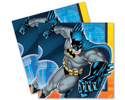 Batman feest servetten 16pcs