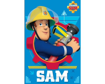 Brandweerman Sam fleecedeken action