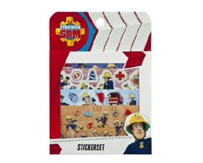 Brandweerman Sam Stickerset