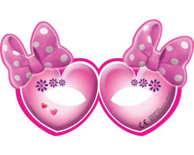 Minnie Mouse feest maskers