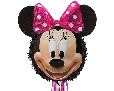 Minnie Mouse feest 3D pull pinata