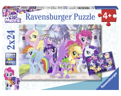 My little Pony puzzel 2 x 24 pcs