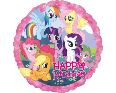 My little Pony feest folie ballon happy birthday