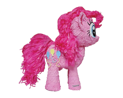 My little Pony Feest Pull Pinata