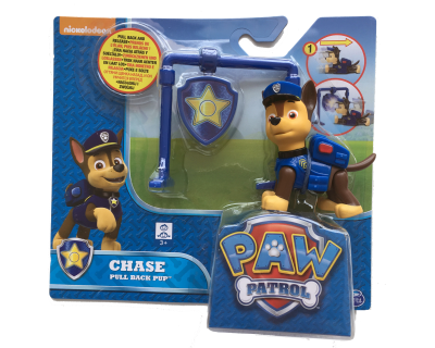 Paw Patrol pull back pup - Chase