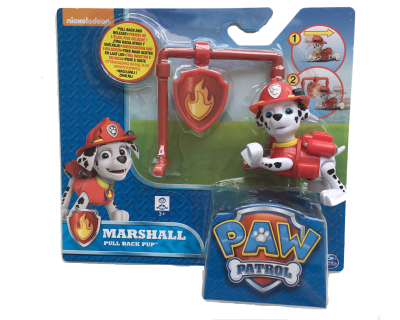 Paw Patrol pull back pup - Maarshall