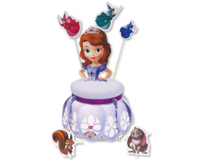 Prinses Sofia Cake Stand & Deco Kit