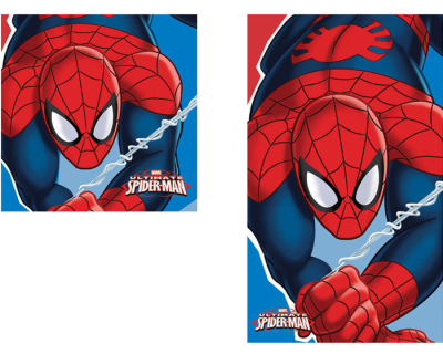 Spiderman Face hand towel