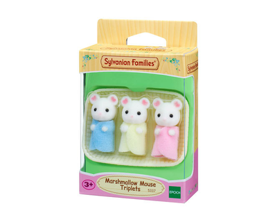 5337 Sylvanian Families - Drieling Marshmellow muis